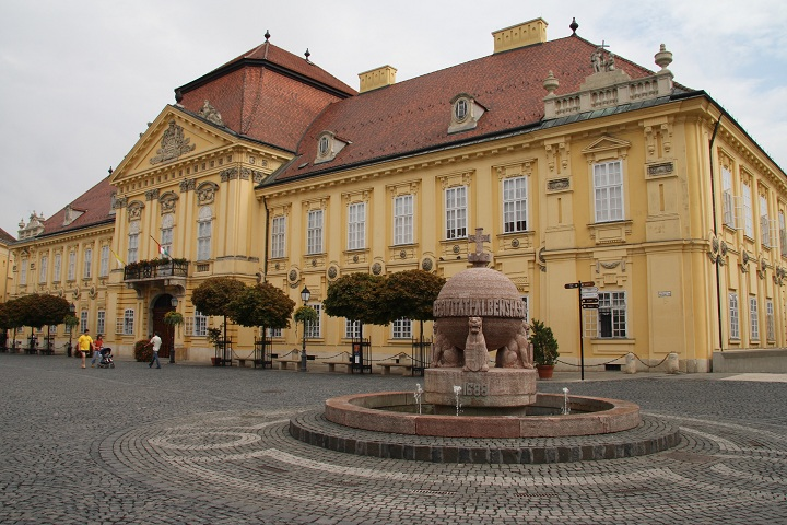 Szekesfehervar Orb and Episcopal Palace